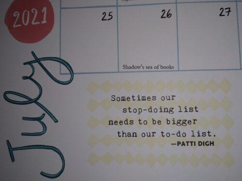 Frasi motivazionali di Luglio – Flow Calendar